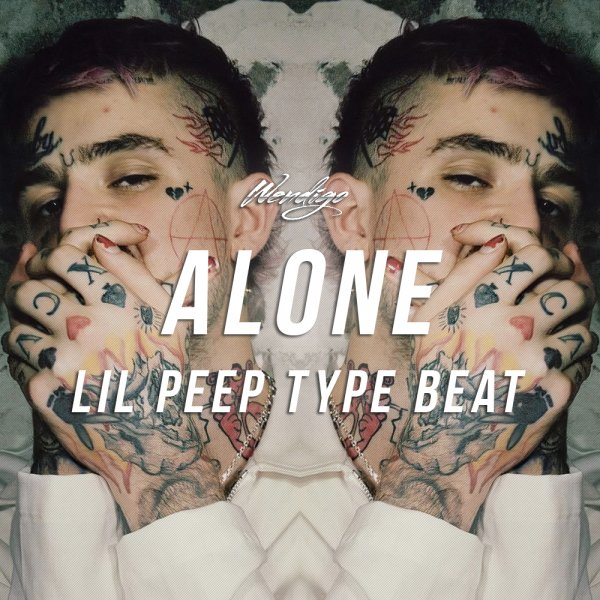Alone. (Lil Peep / Brennan Savage Type)